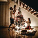 kerstboom met kerst chocolade